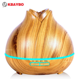 Essential Oil Diffuser - Wood Grain 400ml