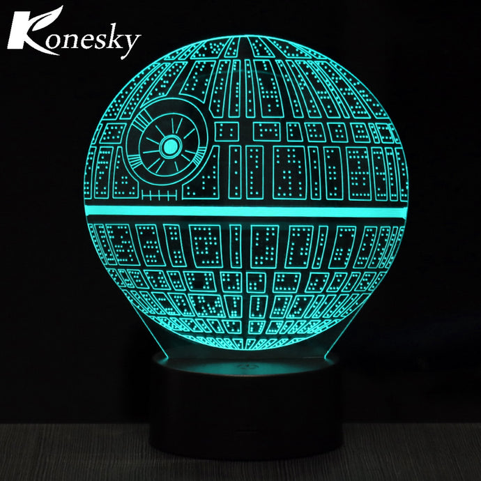 Star Wars Death Star Night Light