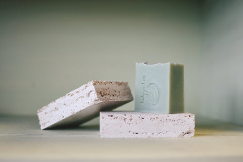 natural stone soap dish