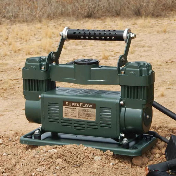 Twin Cylinder Portable Air Compressor
