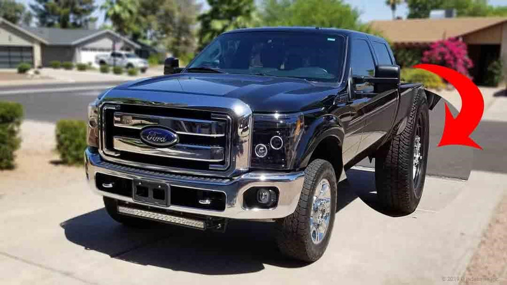 Ford Super Duty F350 will just look a little funny
