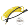 yellow coil hose for tire inflator