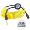 air hose for tire inflator and gauge
