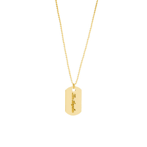 Delta Lat Necklace