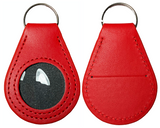 New And Improved Universal AA & NA Recovery Coin Holder Keychain (Red)