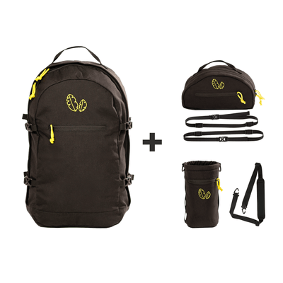 Kiri Backpack with Dopp Kitt and Packing Straps