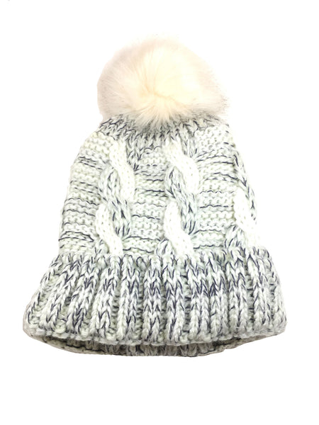 Girls Single Pom Beanie