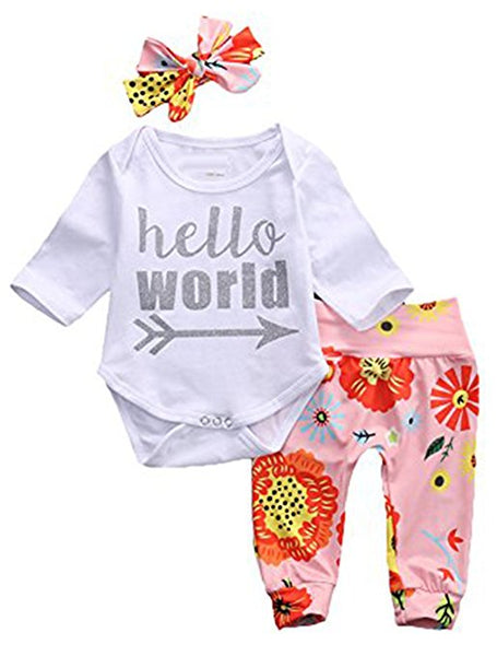 Hello World Three Piece Set