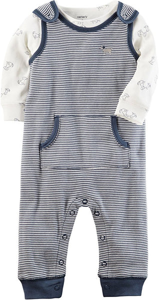 Two Piece Coverall Set