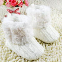 Fuzzy Baby Boots