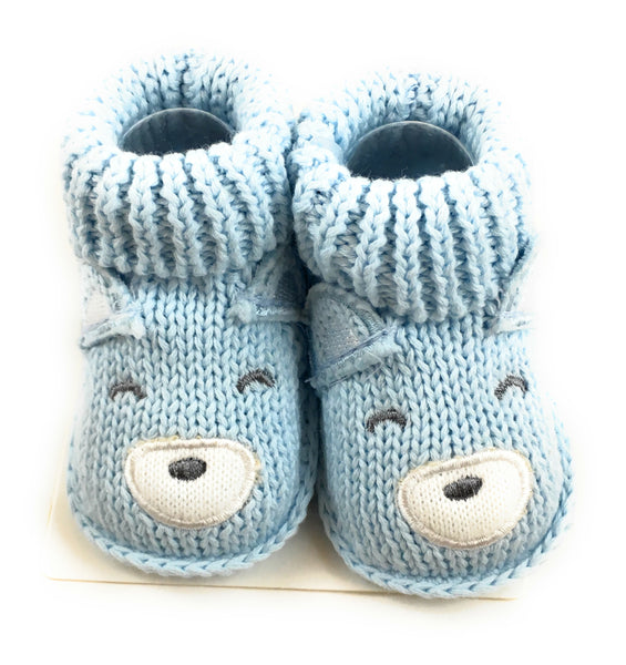 Baby Boys' Bear Booties