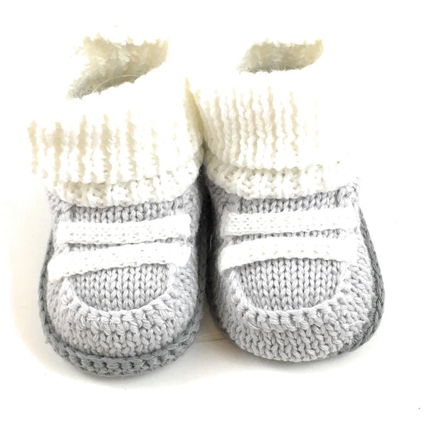 Carter's Grey Boy Booties