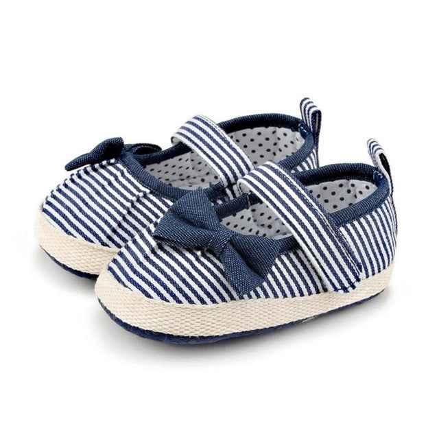 Bowknot Soft Soled Shoes