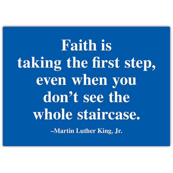 MLK Quote Magnet
