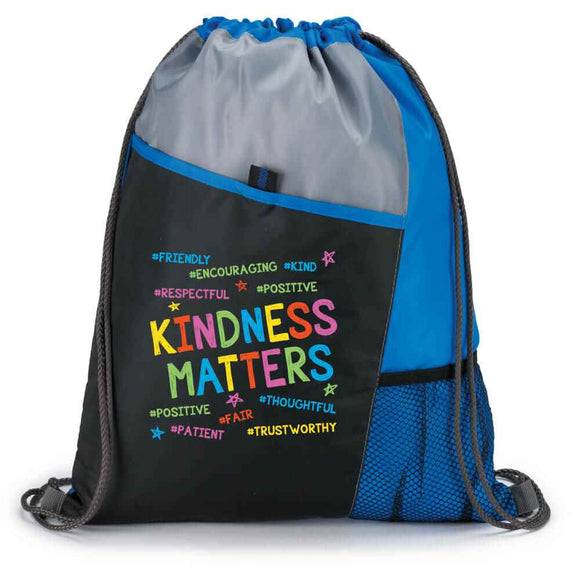 Kindness Matters Drawstring Bag
