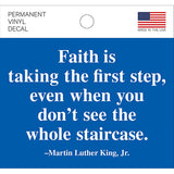 MLK Quote Decal