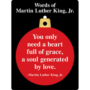 Words of Martin Luther King  Ornament