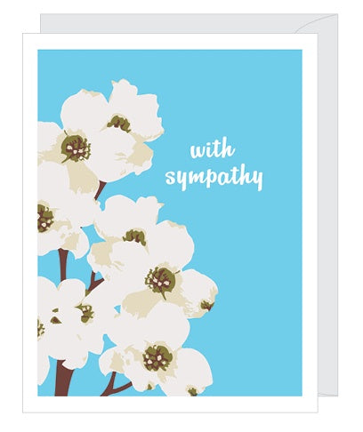 Sympathy Dogwood Card