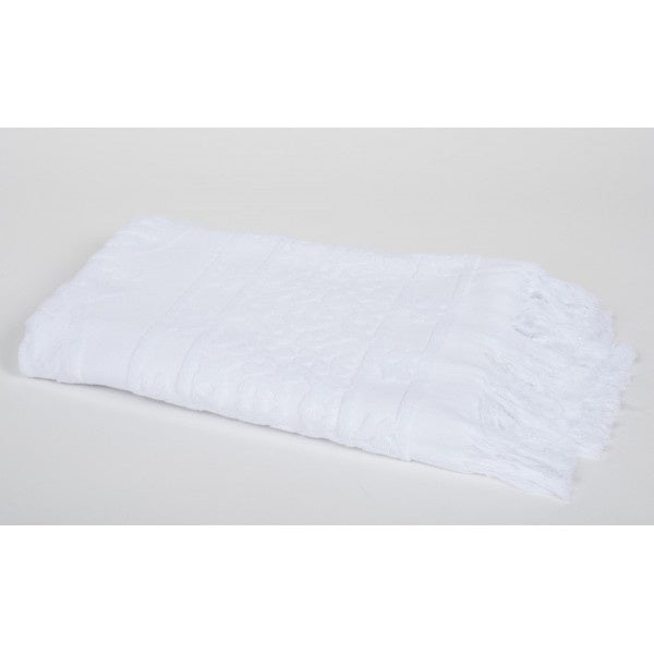 Hammam Blanc Cotton Towel