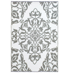 Wrought Iron Cool Silver Mat
