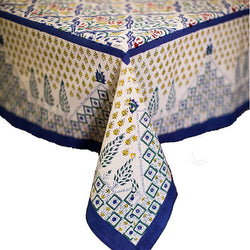 Jardin Blue Tablecloth