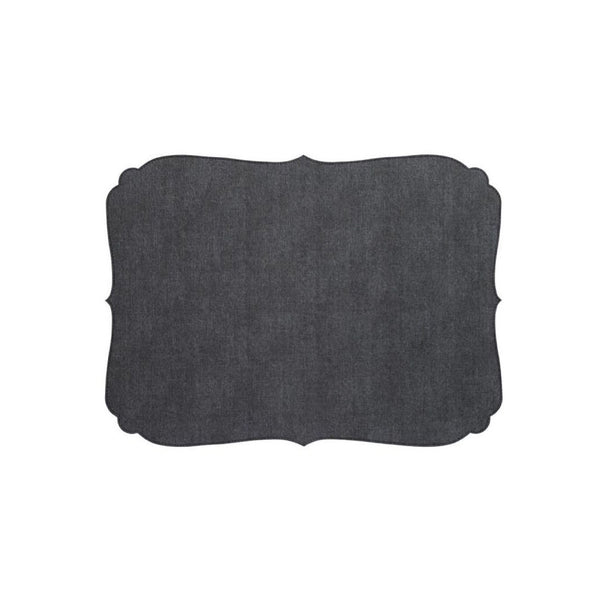 Curly Charcoal Placemat