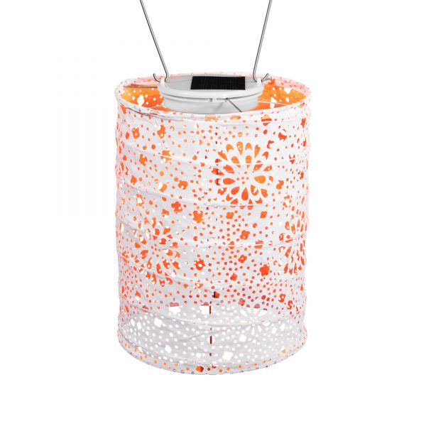 Soji Stella Neon Orange Lantern