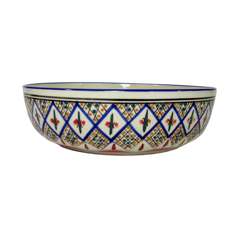 Tabarka Multi Large Pasta Bowl