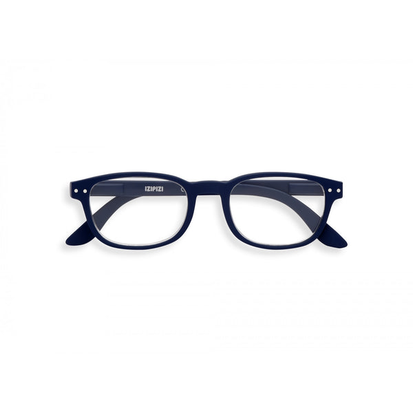 Rectangular #B Navy Blue Reader