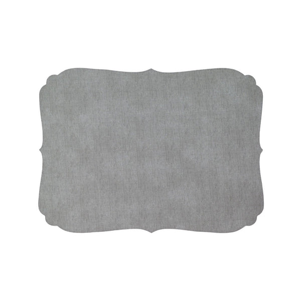 Curly Gray Placemat