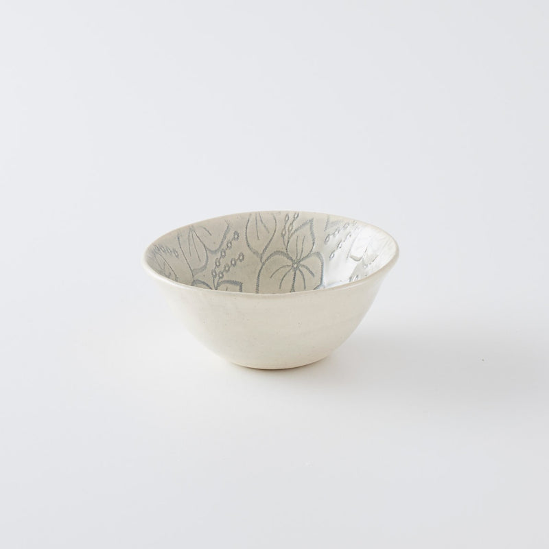 Pudding Bowl Print Duck Egg