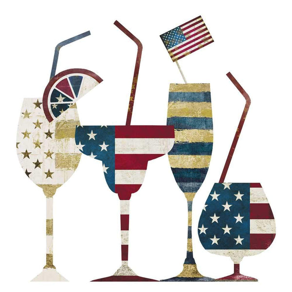 Drink Up, America Beverage Napkins