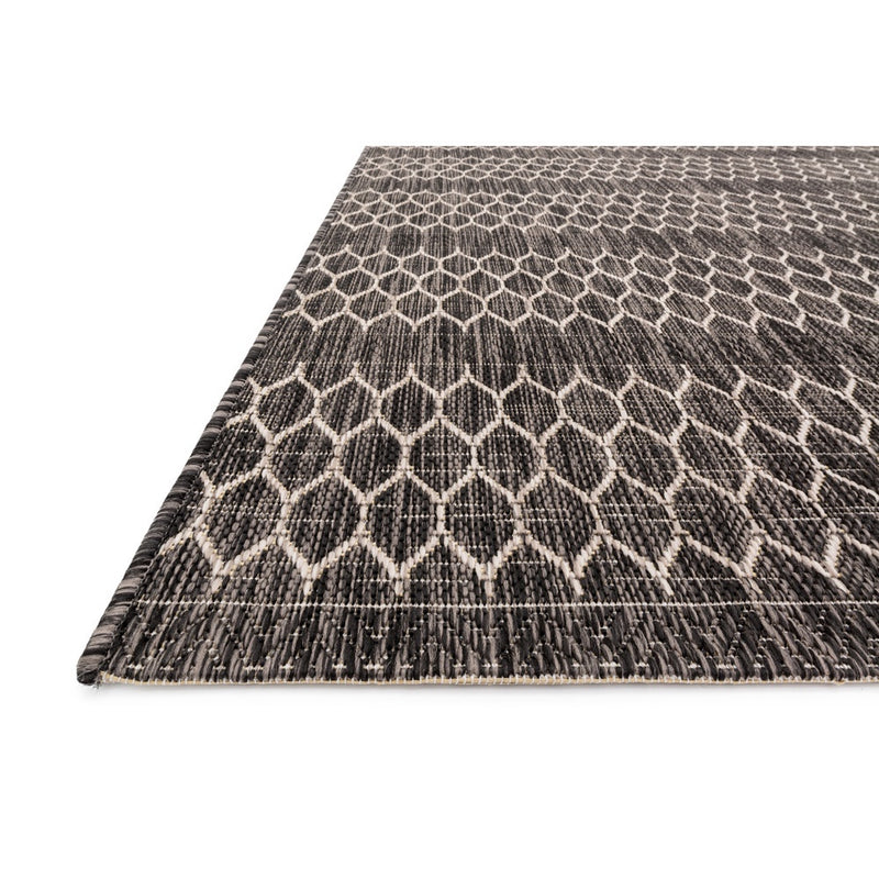 Isle Black Grey Rug