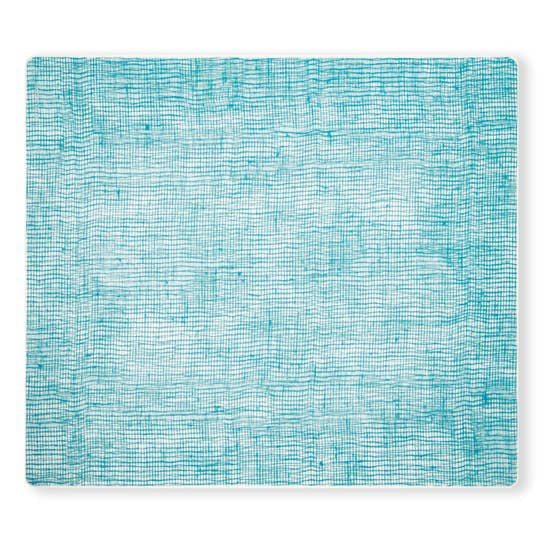 Linen Seafoam Blue Rectangular Placemat