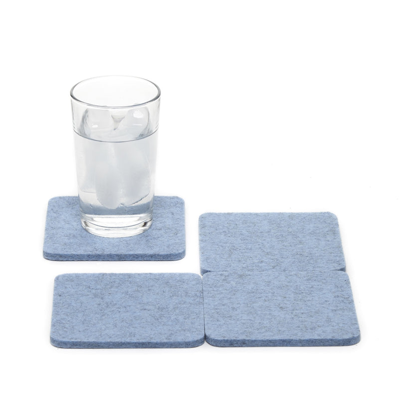 Bierfilzle Heather Blue Set of 4