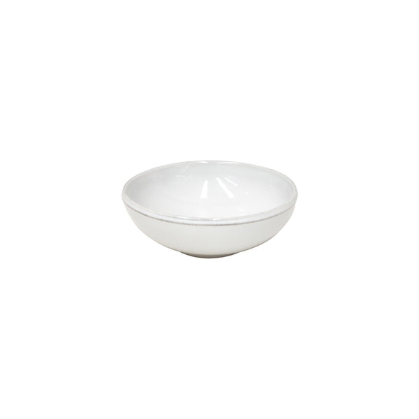 Friso White Low Bowl