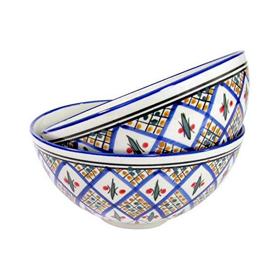 Tabarka Medium Deep Serve Bowl