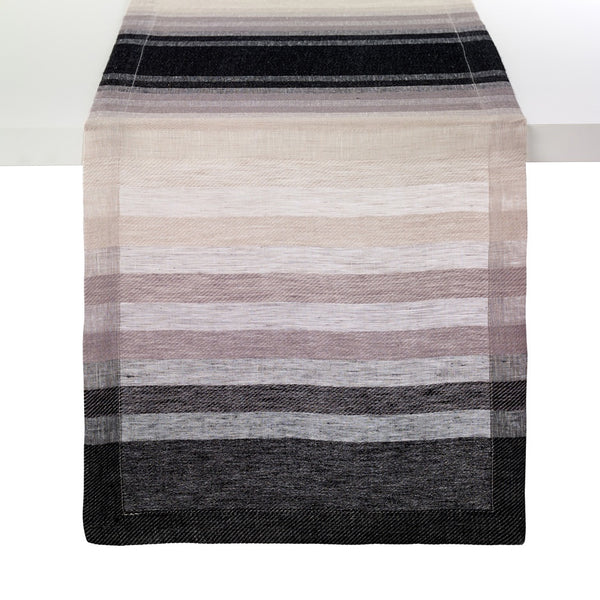 Gradient Stripe Black 90-Inch Runner