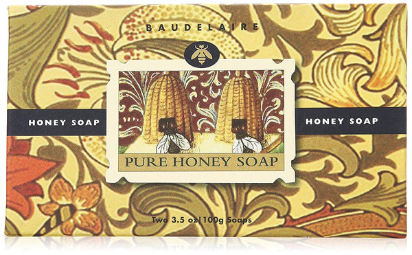 Honey Pure Honey Soap 2 Bar Box