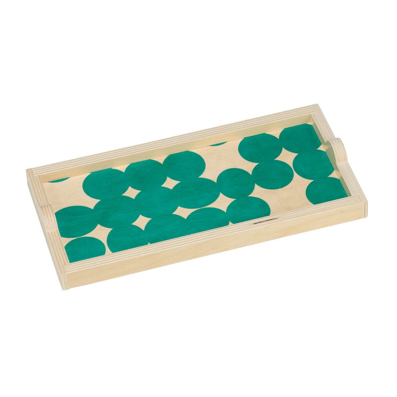 Teal Dot Mini Tray