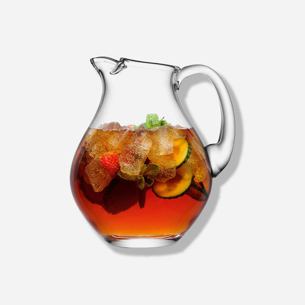 Bar Icelip Glass Pitcher