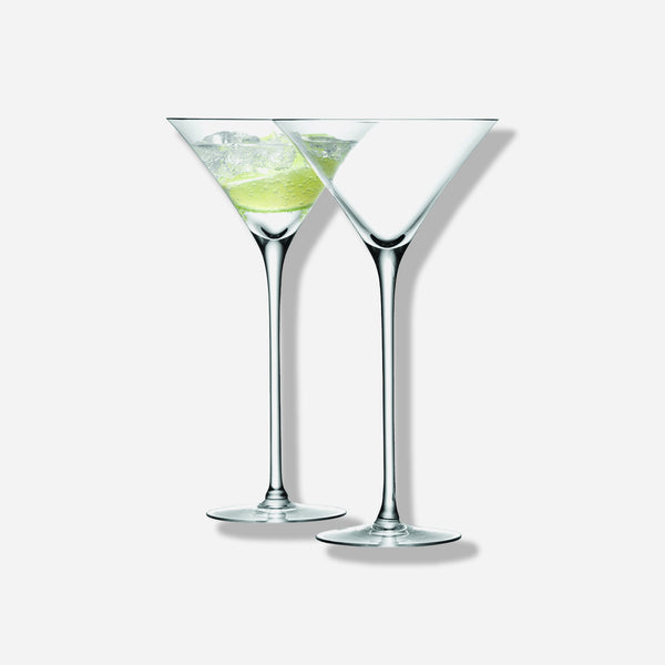 Bar Tall Martini Glass Set of 2