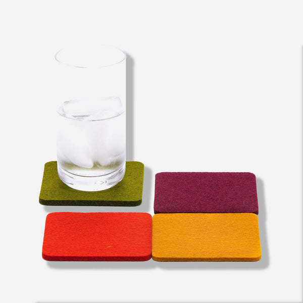 Bierfilzle Spice Coaster Set of 4