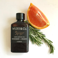 Wilder Rosemary + Orange Hand Sanitizer