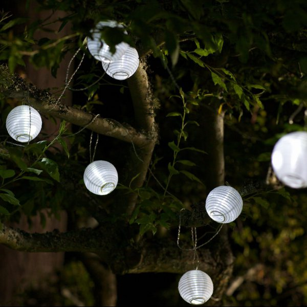 GLOW Nylon String Lights White