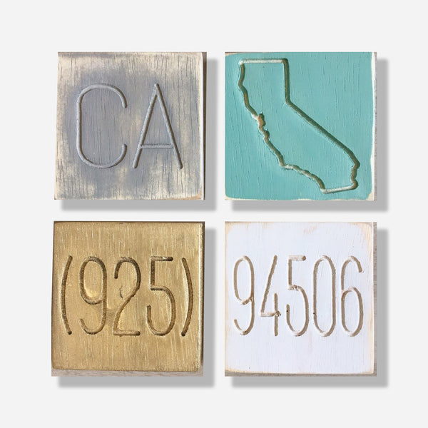 State Pride 94506 Coaster Set of 4