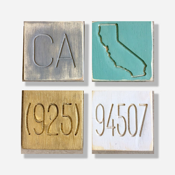 State Pride 94507 Coaster Set of 4