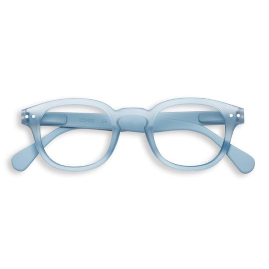 Retro #C Cold Blue Readers