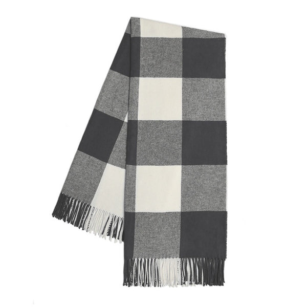 Buffalo Check Charcoal Throw