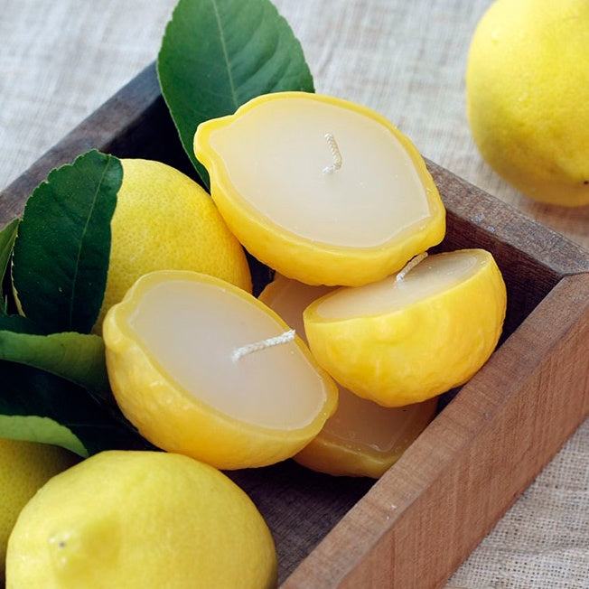 Lemon Half Scented Candle